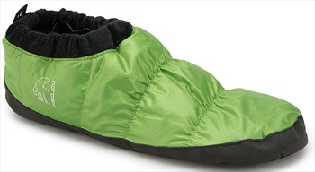Nordisk Mos Down Shoes Insulated Camping Slippers, UK 2.5-5 Green