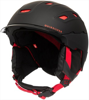 Quiksilver Tremor Ski/Snowboard Helmet, S/M Black