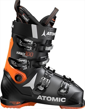 Atomic Hawx Prime 100 Ski Boots, 28/28.5 Black/Orange 2020