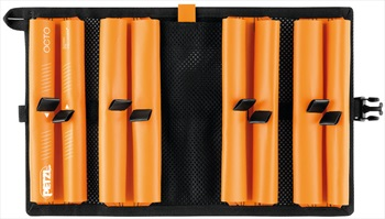 Petzl Octo Ice Screw Carrier Pouch, Orange
