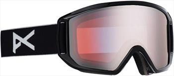 Anon Relapse Sonar Silver Ski/Snowboard Goggles, M/L Black