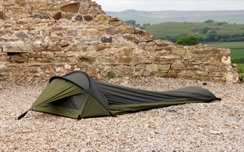 Snugpak Stratosphere Bivvy Ultralight Camping Shelter, 1 Man Olive
