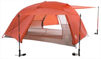 Big Agnes Copper Spur HV UL2 Ultralight Backpacking Tent 2 Man Orange