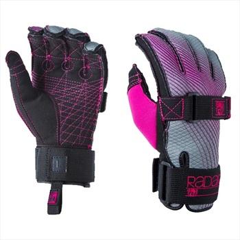 Radar Bliss Ladies' Water Ski Gloves, XS Black Pink 2019