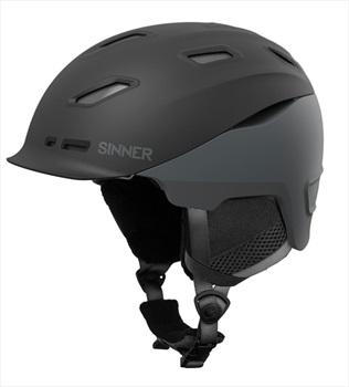 Sinner Moonstone Ski/Snowboard Helmet L Matte Black/Grey