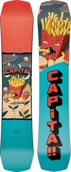 Capita Children Of The Gnar Kid's Hybrid Camber Snowboard, 145cm 2020