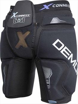 Demon X Connect X D3O Women's Snowboard/Ski Impact Shorts, XS Black