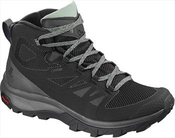 Salomon OUTline Mid GTX Women's Hiking Boots, UK 4 Black/Green