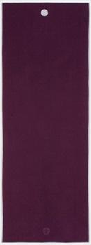 Manduka Yogitoes Yoga Mat Towel, Purple