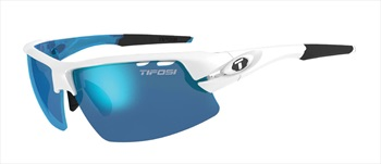 Tifosi Crit Interchangeable Lens Blue/AC Red/Clear Sunglasses Skycloud