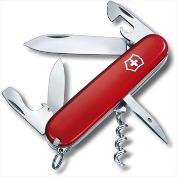 Victorinox Spartan Swiss Army Penknife Pocket Multi Tool, 12 Tools Red