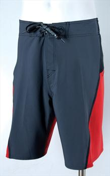 "Liquid Force Steel Board Shorts, S-M 32"" / 81cm Waist Red"