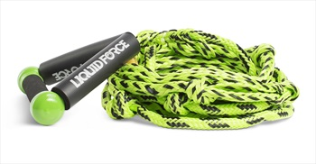 "Liquid Force Wakesurf Floating Rope Combo, 8"" Green Black"