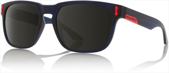 Dragon Monarch Smoke Lens Sunglasses, Crystal Navy