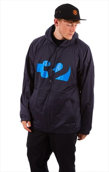 thirtytwo Apex Tech Anorak Technical Snowboard Hoodie, M Navy/Blue