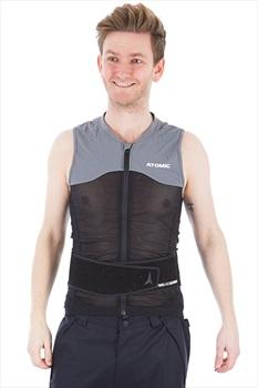 Atomic Adult Unisex Live Shield Vest AMID Armour Vest, L Black/Grey