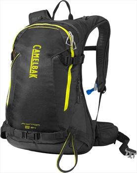 Camelbak Phantom LR Ski/Snowboard Backpack, 24L Black/Sulphur Springs