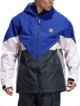 Adidas Premiere Riding Ski/Snowboard Jacket, M Active Blue/Cream White