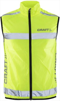 Craft Visibility Quick Dry Sports Full Zip Tank Top Vest, S Flumino