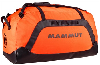 Mammut Cargon Sport Travel Duffel Bag, 40L Safety Orange/Black