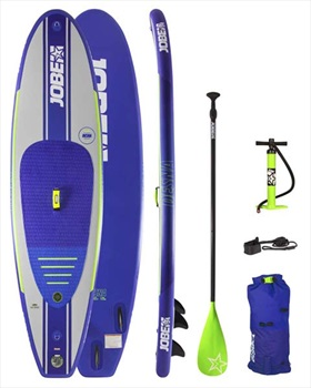 "Jobe Desna Inflatable SUP SUP Paddleboard Package, 10'0"" Blue 2020"