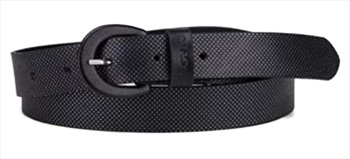 Levi's Nail Head Embossed Women's Leather Belt, Up To 90cm Black