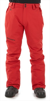 Horsefeathers Spire Ski/Snowboard Pants, L Red