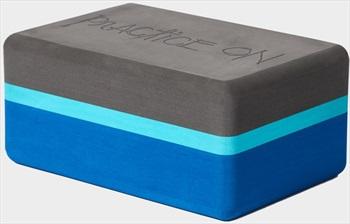 Manduka Recycled Foam Yoga Block, Pacific Blue