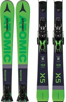 Atomic Redster X5 FT 10 GW Bindings Skis, 168cm Green 2020