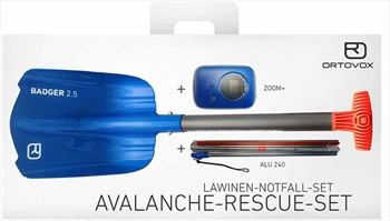 Ortovox Zoom+ / Badger 2.5 / Alu 240 Avalanche Safety Package