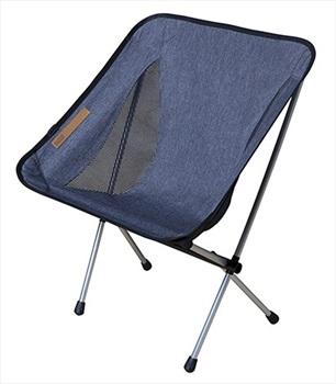 Nigor Morningbird Lightweight Compact Camp Chair, Dark Grey