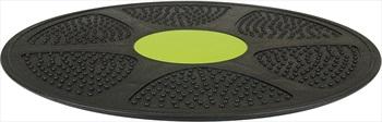 "Urban Fitness Equipment Wobble Balance Board, 14"" Black/Green"