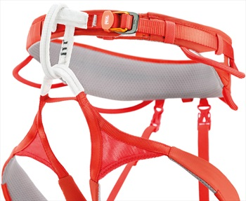 Petzl Adult Unisex Hirundos Harness Adult Climbing Harness, S Red