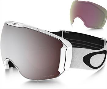 Oakley Airbrake XL Snowboard/Ski Goggles L Polished White Black