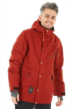 L1 Premium Goods Wilcox Ski/Snowboard Jacket, S Rust