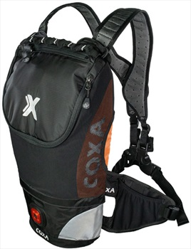 Coxa Carry M10 Backpack Dayhiking, Skiing, Cycling Pack, Orange Black