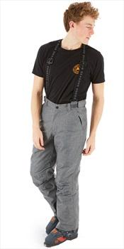 Five Seasons Evron Ski/Snowboard Pants, L Grey Melange