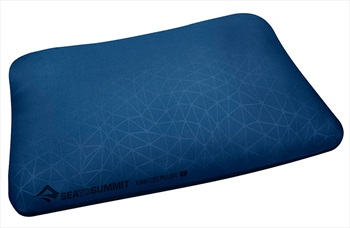 Sea to Summit Foam Core Pillow Camping Pillow, Large Navy