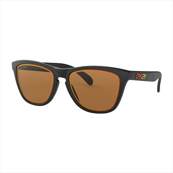 Oakley Frogskins Prizm Bronze Sunglasses, Fire and Ice Matte Black