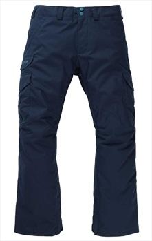 Burton Cargo Short Fit Snowboard/Ski Pants, L Dress Blue