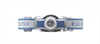 Led Lenser MH3 Headlamp IPX54 Led Head Torch, 200 Lumens Blue/White