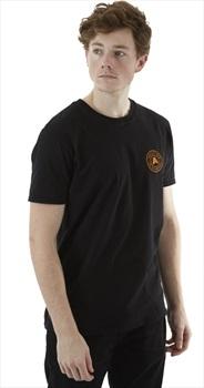 Absolute Snow Logo Short Sleeve T Shirt, XL Black