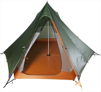 Nigor WickiUp 3 Tipi Ultralight Backpacking Tent, 3 Man Willow Bough