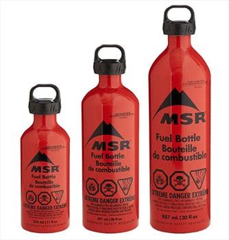 MSR Fuel Bottle Liquid Fuel Container, 325ml Red