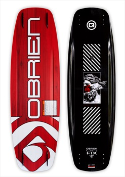 O'Brien Fix Cable Wakeboard, 142 Black Red 2020