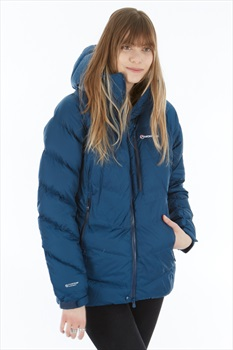 Montane Womens Resolute Down Jacket, UK 14 Narwhal Blue