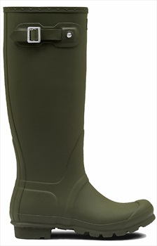 Hunter Womens Original Tall Wellington Boot, UK 5 Dark Olive