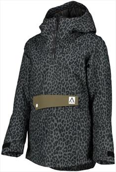 Wearcolour Homage Anorak Women's Snowboard/Ski Jacket S Black Leo