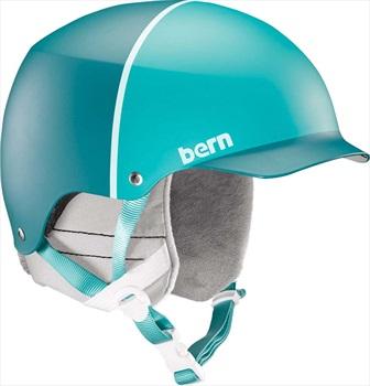 Bern Muse EPS Winter Snowboard/Ski Helmet, M Satin Teal Hatstyle