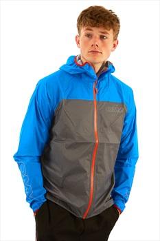 OMM Halo Men's Waterproof Shell Jacket, M Blue/Grey